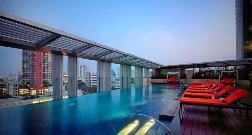 Marriott Hotel Sukhumvit Swimming pool